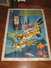 manifesto,1970,20.000 leghe sotto i mari,Takeshi Tamiya Toei Animation,Ishinomor
