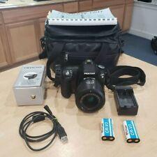 Pentax K100D 6.1MP Digital SLR Camera Black (Kit w/ 18-55mm Lens) Pre-owned