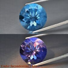 14.39ct 14.8mm Round Natural Color Change Fluorite, Brazil