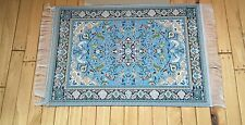 Dolls House Emporium 1/12th scale Blue Antonio Rug 2869 New *