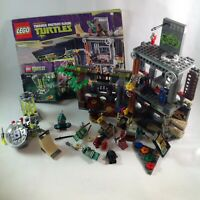 Lego TMNT Turtles  Lair Attack Kraang Lab Escape  incomplete  79103 79100