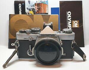 Olympus OM-2N Silver mit Anleitung - Kamera Body