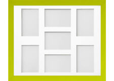 Frame Company Candy Lime Green Multi Aperture Collage Photo frame & Mount
