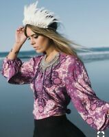 spell and the gypsy collective Kiss The Sky Violet Blouse