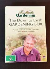 3 DVD Set - Gardening Australia - Down To Earth Gardening Box -Peter Cundall etc