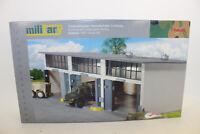 Herpa 745802  Gebäudebausatz Reparaturhalle für LKW´s  1:87 H0 NEU in OVP