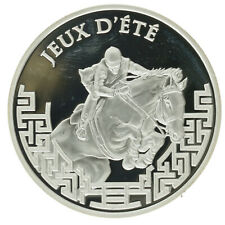 France - Silver 1½ Euro Coin - 'Equestrian' - 2007 - Proof