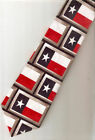 Tie New Red White Blue Star Texas Flag Patriotic Polyester LAST ONE!*