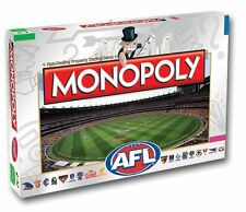 Monopoly AFL Edition Board Game Authentic Version