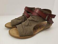 Blowfish Malibu Balla Gladiator Brown Sandals Womens Size 7