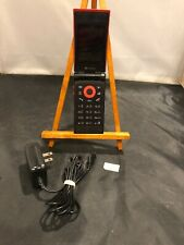 Samsung SoftBank 707SCII Japanese Slim Unlocked World Flip Mobile Red Cell Phone