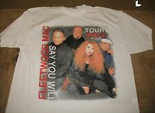 Fleetwood Mac - Say You Will Concert Tour 2003 New! T-Shirt white (Large)