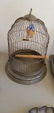 Vintage Bird Cage 13x15 collectible decor - Fast Shipping