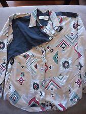 shirt western wear mens indian Longhorn by Niver Western Wear RANCH cowboy gay