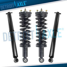 Front Rear Struts Coil Assembly + Shocks for Chevy Colorado GMC Canyon 2WD RWD