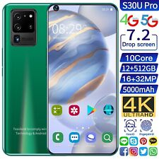 Global Version Galay S30 Ultra 7.2' 4G 5G Android10 Smartphones 12GB RM 512G ROM