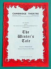 Dr Doctor Who TOM BAKER 1st acting role Cambridge Theatre programme 1966