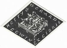 H. DETT VOSS: Exlibris für Netty & Gerard Lewin