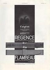 Publicité  Ceinture L' AIGLON  pour Homme fashion vintage print ad  1936 - 6h