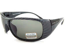 Serengeti Polarized Photochromic Larino 7710 Sunglasses Carbon Fibre / CPG Grey