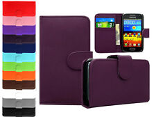 Leather Flip Book Wallet Cover Pouch Case For Samsung Galaxy Express 2 SM G3815