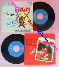 LP 45 7'' RONNIE JONES Acquario BONANNI COLLIN PAGANO Dateci luce HAIR no cd dvd