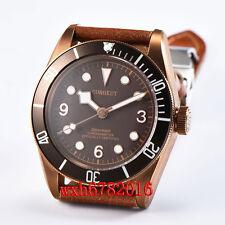 41mm Corgeut bronze PVD case Sapphire Glass Automatic mechanical Men's Watch