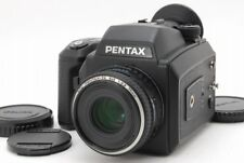 【MINT】Pentax 645NII Medium Format Camera with FA 75mm F2.8 Lens from Japan #726