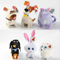 Baby Toy Secret Life Of Pets Cartoon Plush Soft Chloe Animal Doll Kids Children