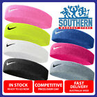NEW Nike Swoosh Head Sweat Band Cotton Assorted Colour Fitness Gym Sport Apparel