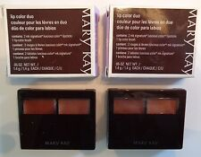 Mary Kay Lip Color Signature Luscious Duo Bronze/Amber #012749 NOS Lot of 2