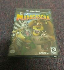 Madagascar (Nintendo GameCube, 2005) Brand New