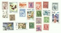 Central America postage stamps x 21