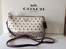 NWT. Coach Butterfly Bandana Print Lyla Cross-body Bag Shoulder Bag F59332