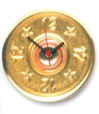 Fusil cartouche design en bois horloge fait main dans le UK idéal tir cadeau