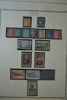 1937-1938 Mint & Used Stamp France Sower/Peace/Ceres/Tourism/Industry/U S A