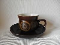 DENBY ARABESQUE TEA CUP & SAUCER
