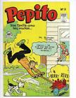 Pepito #9 1953 Spanish Runaway Lawnmower Cover!