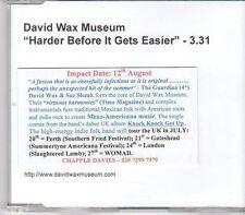 (EK997) David Wax Museum, Harder Before It Gets Easier - DJ CD