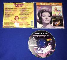 OOP Marilyn Mae 2fer CD Meet Marvolous/Lamp Is Low LP NR MINT Collectables 24trx