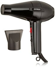 Elchim 2001 Professional Salon Italian Hair Dryer HP High Pressure Blow Black