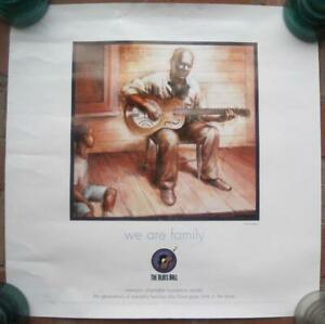 "Memphis Blues Ball Color Poster 20""x20"" Charitable Foundation Music Reed Chappel"