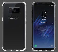 Funda para Samsung Galaxy S8 antigolpes Transparente 100% reforzada