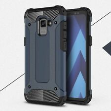 For Samsung Galaxy A5 A7 (2018) Hybrid Hard Armor Full Body Shockproof Back Case