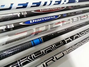 Titleist 915 & 917 Demo Shafts - Select from the drop down menu