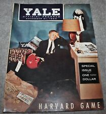 VINTAGE YALE HARVARD FOOTBALL PROGRAM NOVEMBER 21, 1959