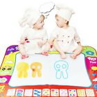 Kids Water Writing Painting Drawing Mat Board Magic Pen Doodle Toy Xmas Gift SX