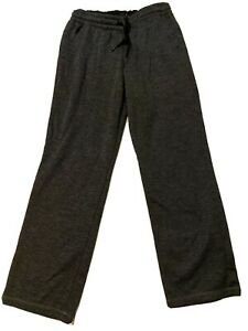 Boys Teen Gray w/Black Trim Adidas Track Athletic Pants Size L - XL 14-16