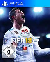 PS4 / Sony Playstation 4 Spiel - FIFA 18 DEUTSCH mit OVP