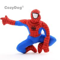 12'' Spiderman Plush Toy Soft Stuffed Baby Doll 30cm Figure Boys Kids Cute Gift